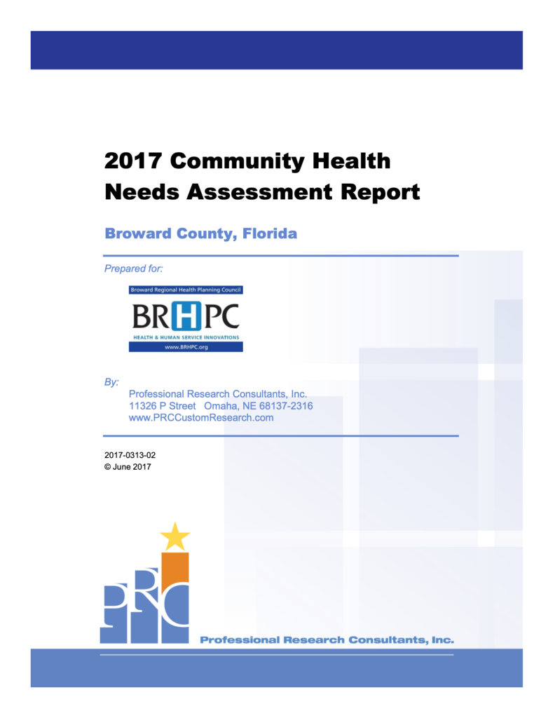2017 Community Health Needs Assessment Report